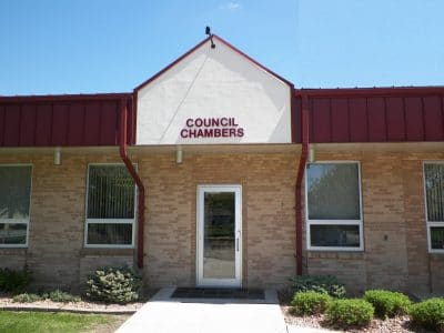 Council Chambers Entrance