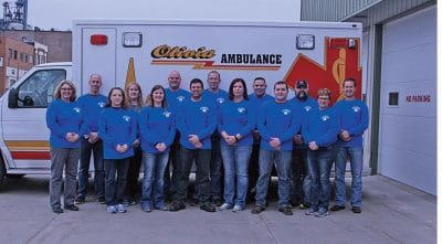 Ambulance Crew - City of Olivia